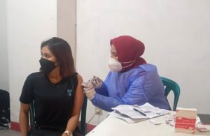 Hari Terakhir Vaksinasi Terima Kasih di GOR Delta Sidoarjo